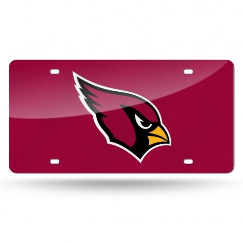 Arizona Cardinals Laser Cut License Plate
