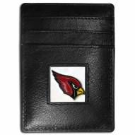 Arizona Cardinals Leather Money Clip/Cardholder in Gift Box