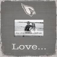 Arizona Cardinals Love Picture Frame