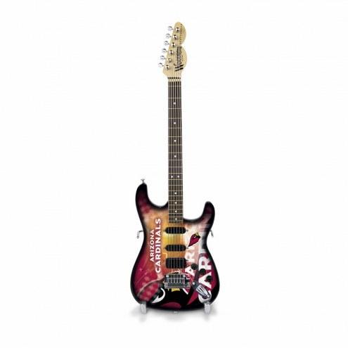 Arizona Cardinals Mini Collectible Guitar