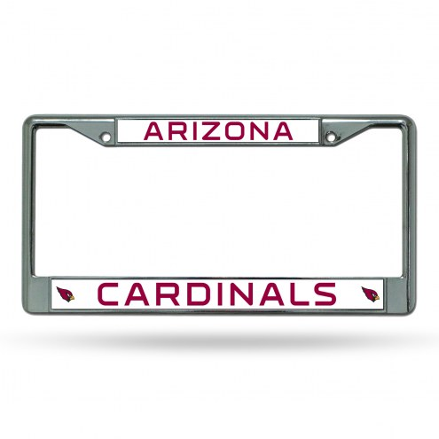 Arizona Cardinals NFL Chrome License Plate Frame