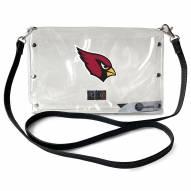 Arizona Cardinals Clear Envelope Purse