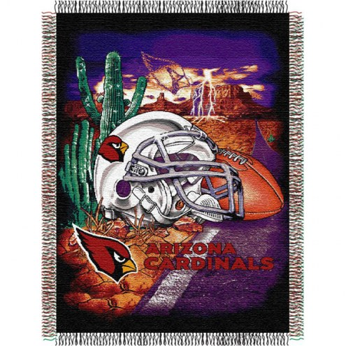 Arizona Cardinals NFL Woven Tapestry Throw