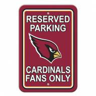 Arizona Cardinals Parking Sign