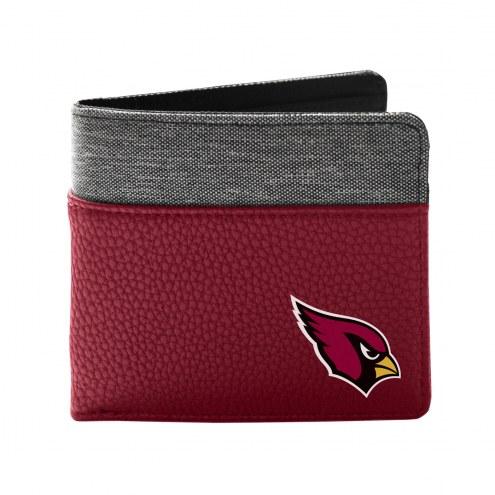 Arizona Cardinals Pebble Bi-Fold Wallet
