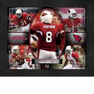 Arizona Cardinals Personalized 11 x 14 Framed Action Collage