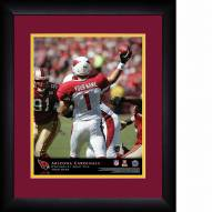 Arizona Cardinals Personalized 13 x 16 NFL Action QB Framed Print
