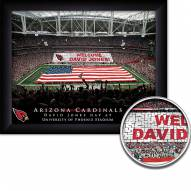Arizona Cardinals 11 x 14 Personalized Framed Stadium Print