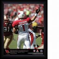 Arizona Cardinals Personalized 11 x 14 NFL Action QB Framed Print