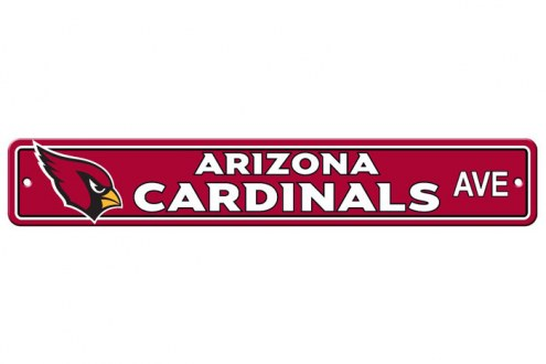 Arizona Cardinals Plastic Street Sign