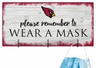 Arizona Cardinals Please Wear Your Mask Sign