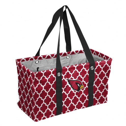 Arizona Cardinals Quatrefoil Picnic Caddy