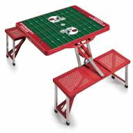 Arizona Cardinals Red Folding Picnic Table