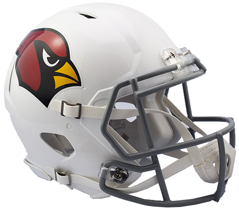 Arizona Cardinals Riddell Speed Full Size Authentic Color Rush Football Helmet