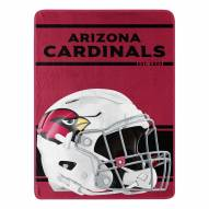 Arizona Cardinals Run Raschel Blanket