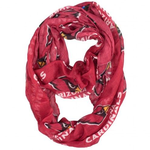 Arizona Cardinals Sheer Infinity Scarf