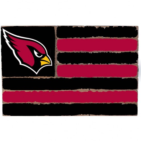 Arizona Cardinals Small Flag Wall Art