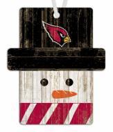 Arizona Cardinals Snowman Ornament