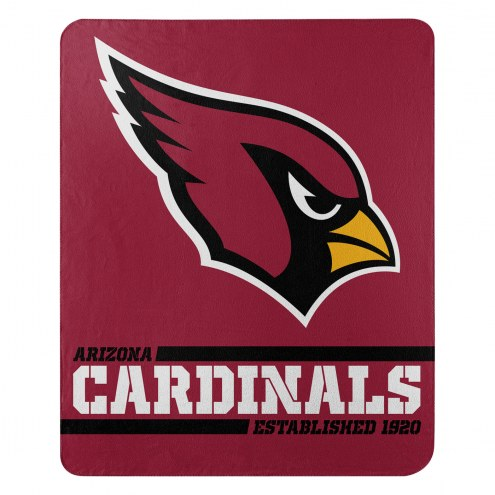 Arizona Cardinals Split Wide Fleece Blanket