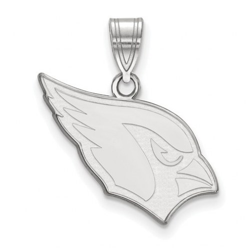 Arizona Cardinals Sterling Silver Medium Pendant
