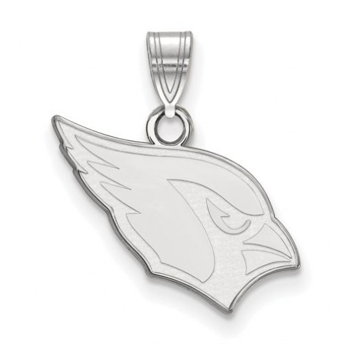 Arizona Cardinals Sterling Silver Small Pendant