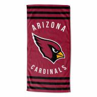 Arizona Cardinals Stripes Beach Towel