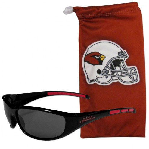 Arizona Cardinals Sunglasses and Bag Set