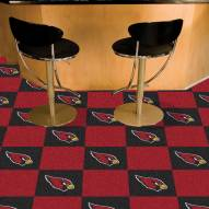Arizona Cardinals Team Carpet Tiles