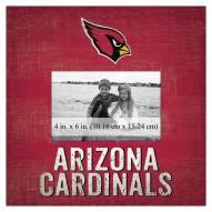 "Arizona Cardinals Team Name 10"" x 10"" Picture Frame"