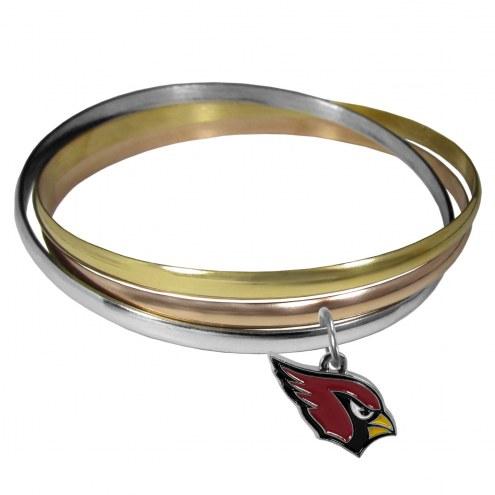 Arizona Cardinals Tri-color Bangle Bracelet