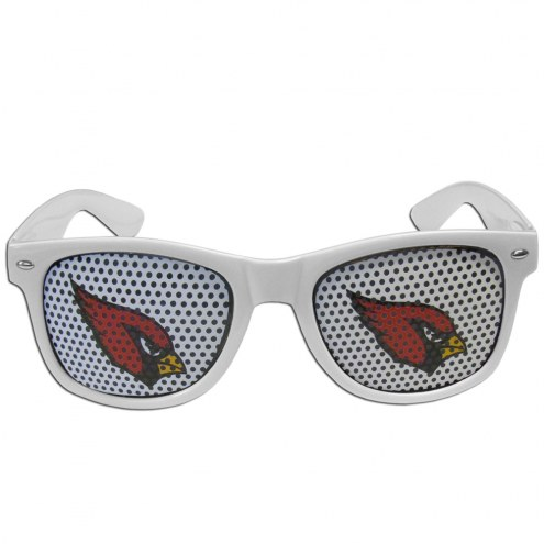 Arizona Cardinals White Game Day Shades
