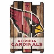 Arizona Cardinals Wood Fence Sign