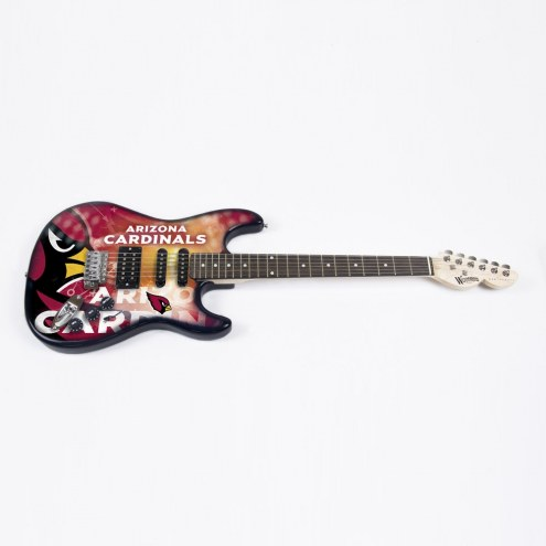 Arizona Cardinals Woodrow Northender Electric Guitar