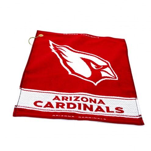 Arizona Cardinals Woven Golf Towel