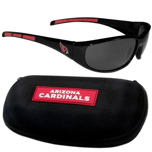 Arizona Cardinals Wrap Sunglasses and Case Set