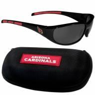 Arizona Cardinals Wrap Sunglasses and Case Set
