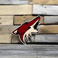 "Arizona Coyotes 12"" Steel Logo Sign"