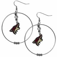"Arizona Coyotes 2"" Hoop Earrings"
