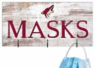 """Arizona Coyotes 6"""" x 12"""" Mask Holder"""