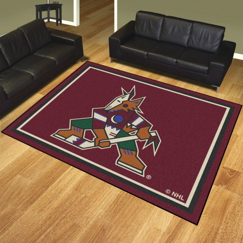Arizona Coyotes 8' x 10' Area Rug
