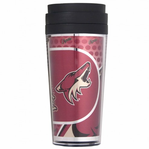 Arizona Coyotes Acrylic Travel Tumbler