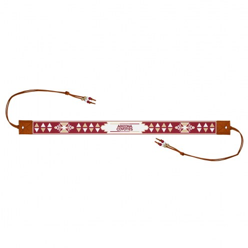 Arizona Coyotes Beaded Headwrap