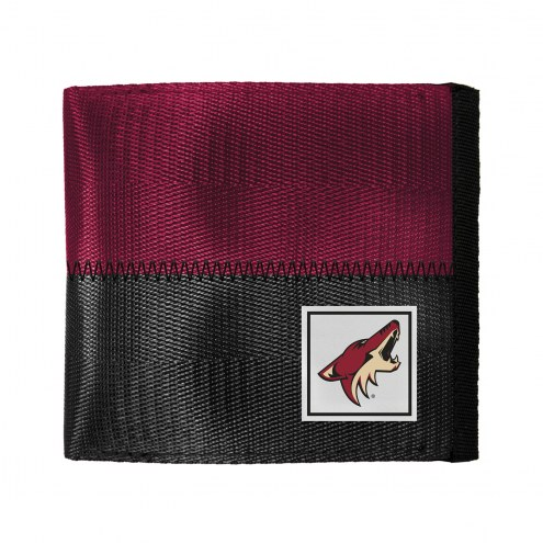 Arizona Coyotes Belted BiFold Wallet