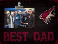 Arizona Coyotes Best Dad Clip Frame