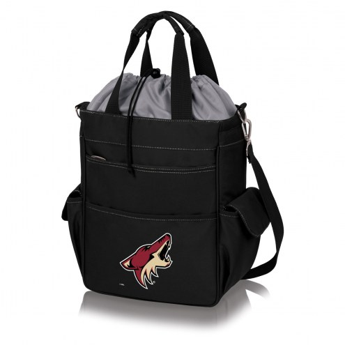 Arizona Coyotes Black Activo Cooler Tote