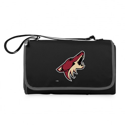 Arizona Coyotes Black Blanket Tote