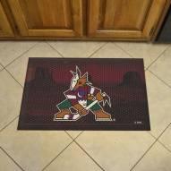 Arizona Coyotes Camo Scraper Door Mat