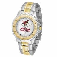 Arizona Coyotes Competitor Two-Tone Men's Watch