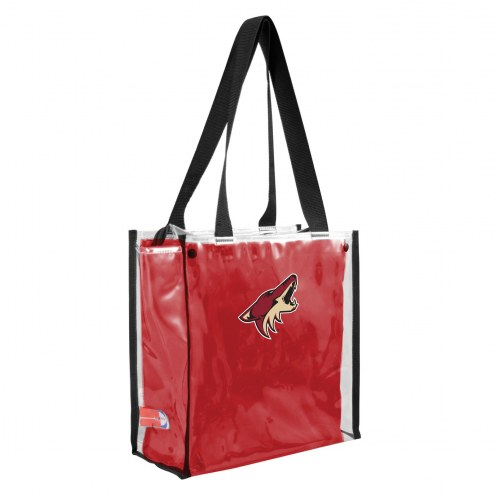 Arizona Coyotes Convertible Clear Tote