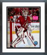 Arizona Coyotes Devan Dubnyk Action Framed Photo